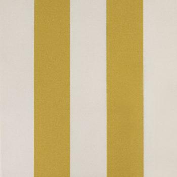 Betty Striped Fabric, Sunshine Yellow