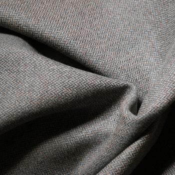 Kenmure Chevron Fabric, Heron