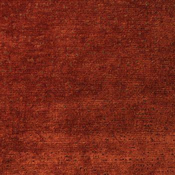 Ted Velvet Chenille Fabric, Rust