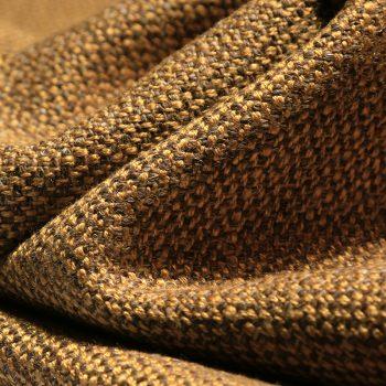 Milva Woven Fabric, Mustard