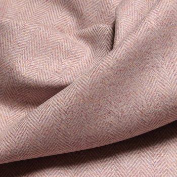Falkland Herringbone Fabric, Blossom